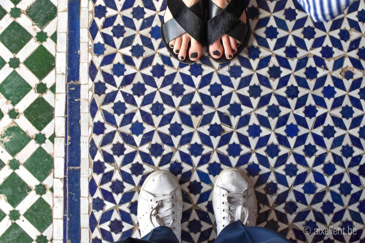 Marrakesh - Bahia Palace - mosaic floor