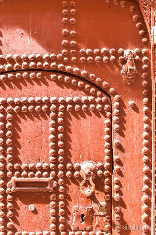 Marrakesh red door