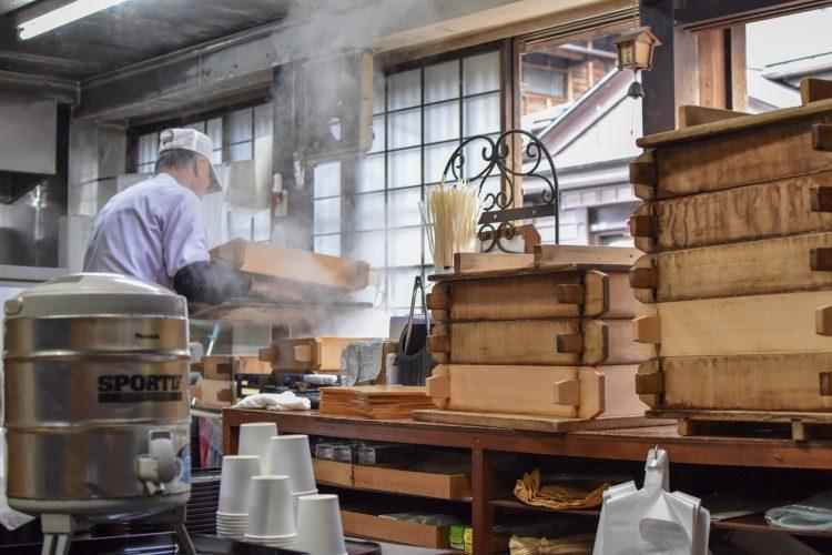 Tsumago Dumpling place