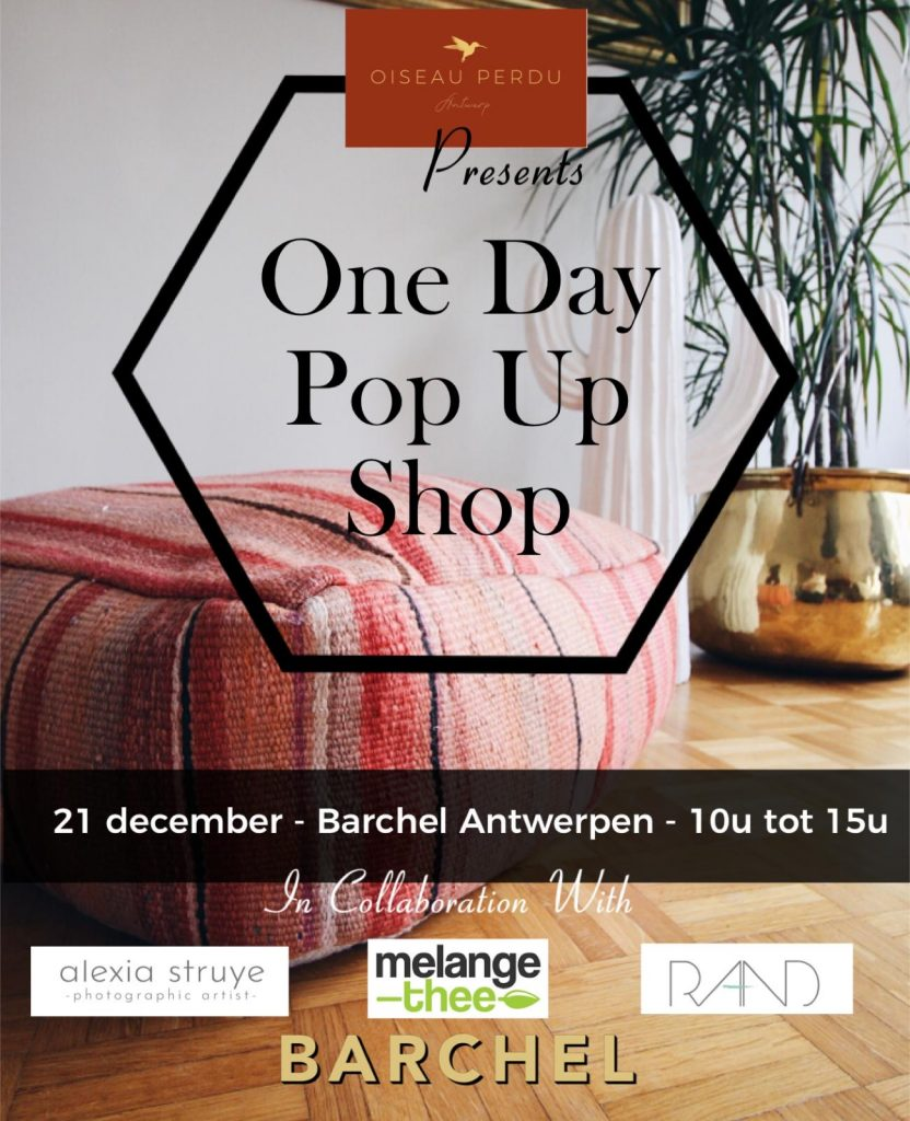One Day Pop Up Shop Poster